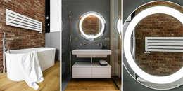 łazienka: styl , w kategorii Łazienka zaprojektowany przez Anna Maria Sokołowska Architektura Wnętrz