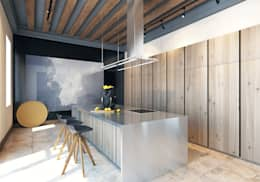 scandinavian Kitchen by Pfayfer Fradina Design
