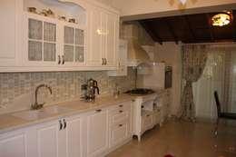 AYAYAPITASARIM – VİLLA-2: rustik tarz tarz Mutfak