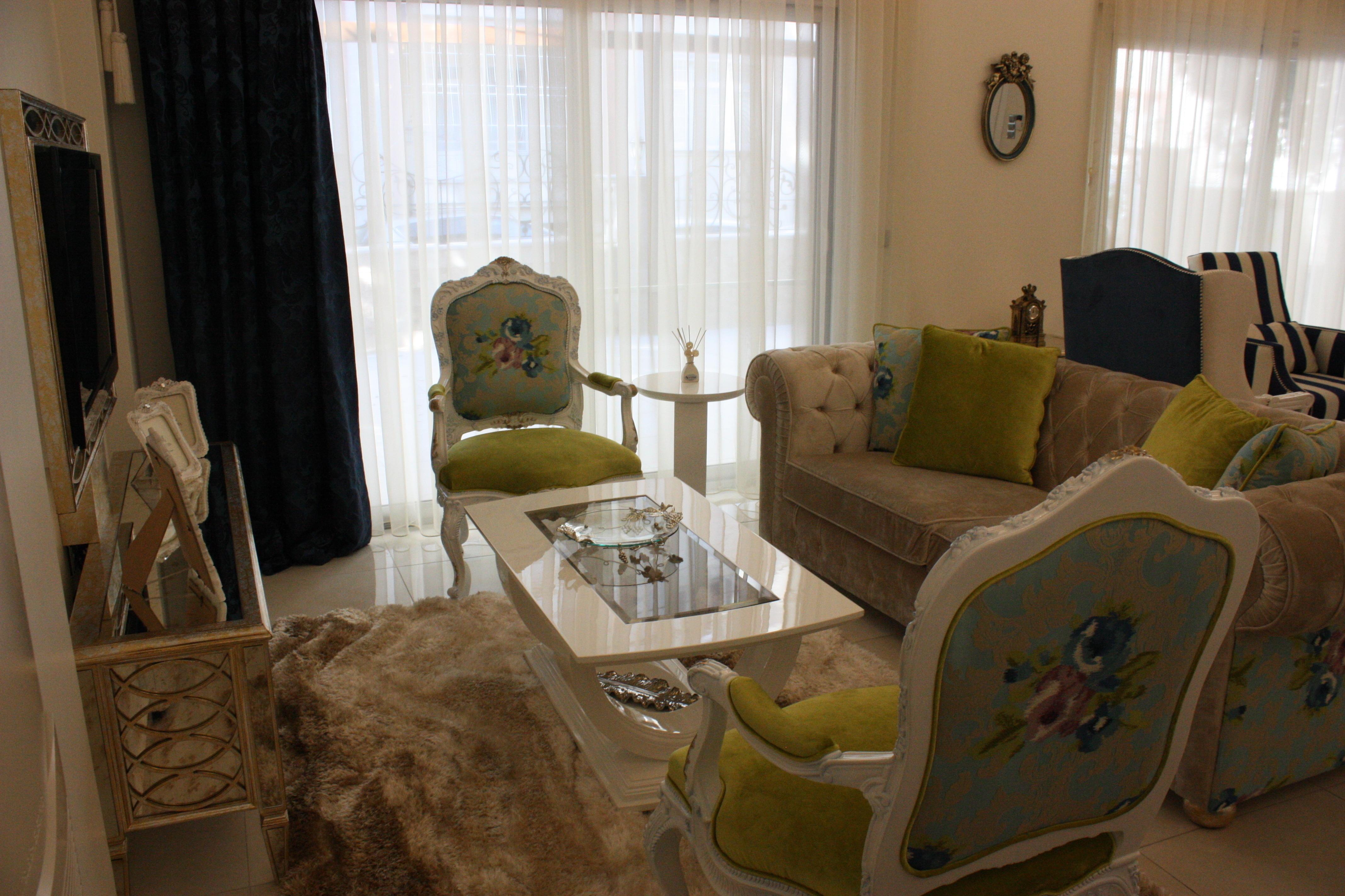 AYAYAPITASARIM – VİLLA-2: klasik tarz tarz Oturma Odası
