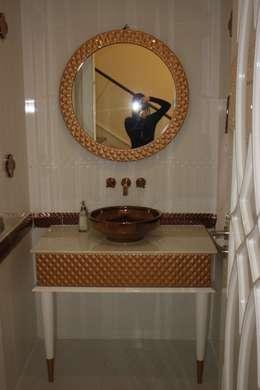 AYAYAPITASARIM – VİLLA-2: modern tarz Banyo