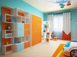 Quartos de criança modernos por Мастерская дизайна ЭГО