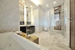 Voltaj Tasarım – THEATRON: modern tarz Banyo