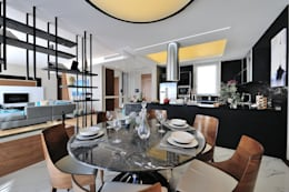 Voltaj Tasarım – THEATRON: modern tarz Yemek Odası