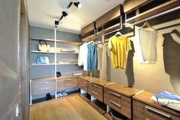 Voltaj Tasarım – Theatron Bodrum: modern tarz Giyinme Odası