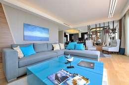 modern Living room by Voltaj Tasarım
