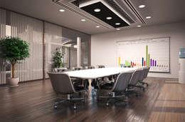 Salas multimedia de estilo moderno por I-Render
