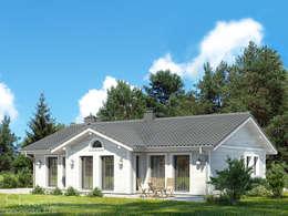 Projekty, klasyczne Domy zaprojektowane przez «HouseProjects Ltd.»