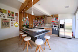 Residência Jardim Marajoara: Garagens e edículas modernas por MeyerCortez arquitetura & design