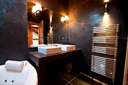 shep&kyles design: kırsal tarz tarz Banyo