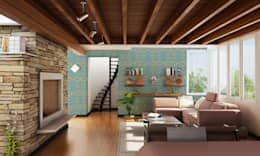 Walls & flooring by Tactile Wonderland