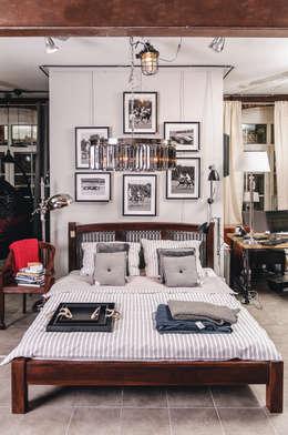 House&more: eklektik tarz tarz Yatak Odası