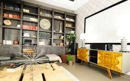 غرفة الميديا تنفيذ Roomsbyme