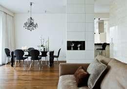 Jadalnia : styl , w kategorii Jadalnia zaprojektowany przez living box