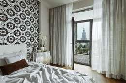 Sypialnia tylko dla gości: styl , w kategorii Sypialnia zaprojektowany przez living box