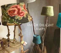 ROBUSTE ROSES: landelijke Woonkamer door Dutch Dilight