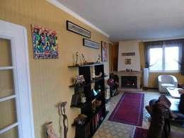 Etat des lieux séjour:  de style  par Pauline VIDAL - Architecte d'Intérieur CFAI