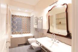CASA DB: Bagno in stile in stile Moderno di DFG Architetti