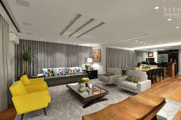 modern Living room by Carolina Burin Arquitetura Ltda