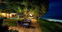 Rancho 3: Jardines de estilo topical por BR  ARQUITECTOS