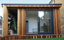 modern Study/office by Garden Fortress