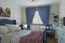 Универсальная история: kırsal tarz tarz Yatak Odası