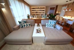 Vila Mascote III: Salas de estar modernas por MeyerCortez arquitetura & design