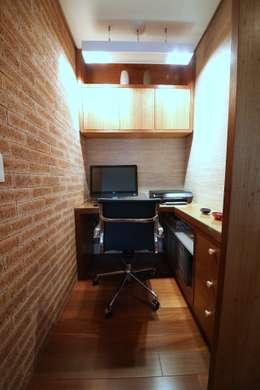 Oficinas de estilo moderno por MeyerCortez arquitetura & design