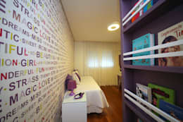 Cuartos infantiles de estilo moderno por MeyerCortez arquitetura & design