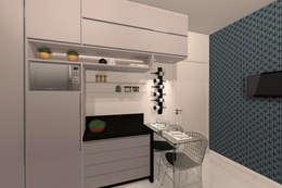Cozinha - RJ: Cozinhas modernas por Konverto Interiores + Arquitetura