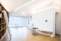 modern Living room by 지오아키텍처