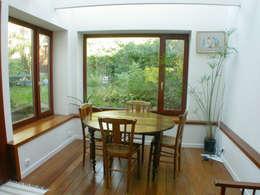 extension 8 m2: Salle à manger de style de style Moderne par dominique tessier et associés