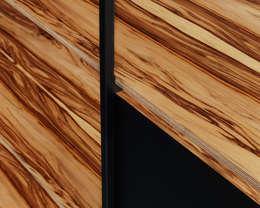 900 Shelving System: moderne Woonkamer door Modiste Furniture