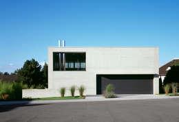 minimalistic Houses by PaulBretz Architectes