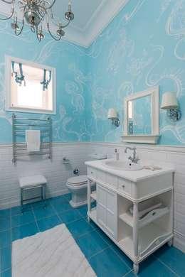 Ванная:  в . Автор – Архитектурно-Строительная Компания 'SM-Home'