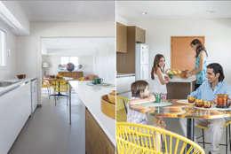 La Casa G: La Casa Sustentable en Argentina.: Cocinas de estilo moderno por La Casa G: La Casa Sustentable en Argentina