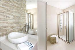 Ванные комнаты в . Автор – La Casa G: La Casa Sustentable en Argentina