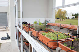 Сады в . Автор – La Casa G: La Casa Sustentable en Argentina
