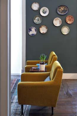 Projekty,  Salon zaprojektowane przez Tiago Patricio Rodrigues, Arquitectura e Interiores