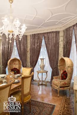 Дом космополит: Столовые комнаты в . Автор – KASHUBA DESIGN