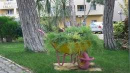 Sihirli Peyzaj – sihirli peyzaj bahçe tasarım proje uygulamaları: akdeniz tarzı tarz Bahçe