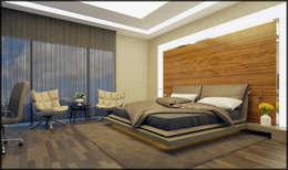 Nuevo Tasarım – Misafir yatak odası: modern tarz Yatak Odası