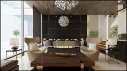 Nuevo Tasarım – Yaşam alanı: modern tarz Oturma Odası