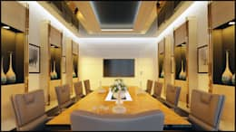 Nuevo Tasarım – Toplantı odası: modern tarz Multimedya Odası