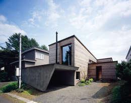 唐松: 合同会社永田大建築設計事務所が手掛けたガレージ&小屋です。