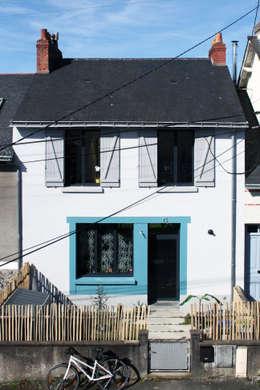 RÉNOVATION 80: Maisons de style de style Minimaliste par PIERRE BRIAND ARCHITECTE