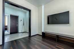 minimalistic Living room تنفيذ Platon Makedonsky