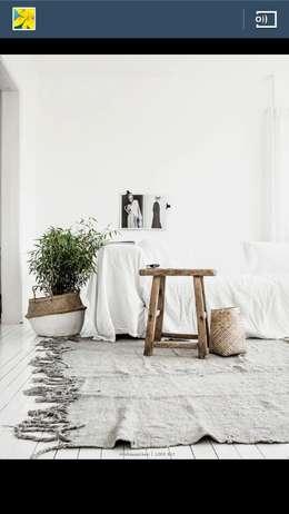 Projekty,  Ściany i podłogi zaprojektowane przez Refound Carpet