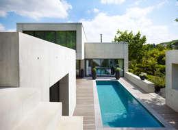 Projekty,  Taras zaprojektowane przez PaulBretz Architectes