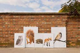 Plakaty: styl , w kategorii Ściany i podłogi zaprojektowany przez Makalulu